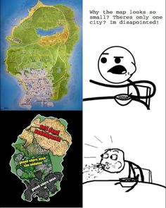 My friend thinks GTA V map looks small,so I made him this is part of Gta funny - More memes, funny videos and pics on Video Game Logic, Video Games Funny, Funny Games, Funny Videos, Funny Gaming Memes, Gamer Humor, Gta Funny, Gta 5 Online, Grand Theft Auto