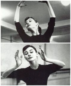 """She had secretly danced for groups of people to collect money for the Dutch resistance. """"The best audience I ever had made not a single sound at the end of my performances,"""" Audrey  remarked. -Wikipedia"""