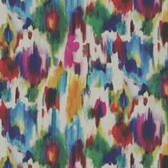 AURORA IKAT MULTI- fabric for the chairs if I can figure out the yardage- good for valance over kitchen window?