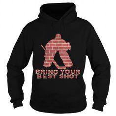 Awesome Tee Hockey goalie hoodie Shirts & Tees