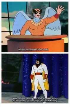 This is my new favourite insult - Funny, Humor, LOL, Pics Space Ghost, Dc Memes, Funny Memes, Hilarious, Funny Comebacks, Funny Gifs, Erich Von Stroheim, 4 Panel Life, Excuse Moi