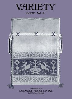 Carmela Testa Variety #4 - Assisi Work & Italian Hemstitching c.1927 by Carmela Testa