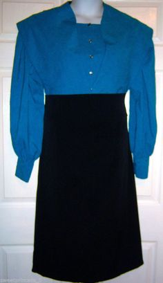 "Amish Dress Cape and Apron 40""B/38""W Authentic Pa. Dutch Amish Clothing #Handmade #Casual http://store.ebay.com/AMISH-MENNONITE-DRESS"
