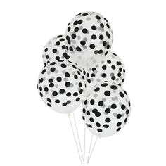 Dotted Balloons   Black