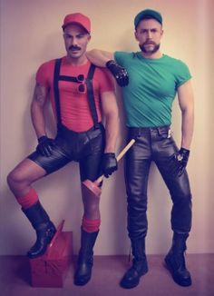 Mario and Luigi looking absolutely fabulous - The Meta Picture