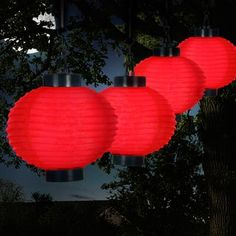 Felices Pascuas Collection Set Of 10 Bright And Colorful Cylinder Chinese  Lantern Patio Lights   White Wire | Products