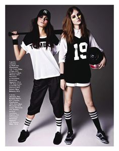 gangs de mode: keilani asmus and gwen loos by james macari for grazia france 29th march 2013 | visual optimism; fashion editorials, shows, campaigns & more!