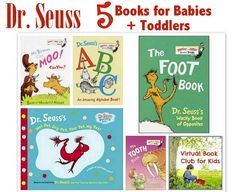 Best Dr. Seuss Books for Babies, Toddlers and Preschool