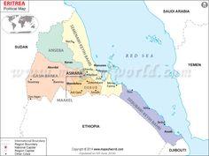 Clasd Eritrea Map