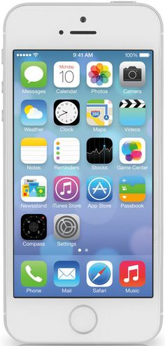 Apple iPhone 5S 16GB Silver Cep Telefonu ( Distribütör Garantilidir ) ::