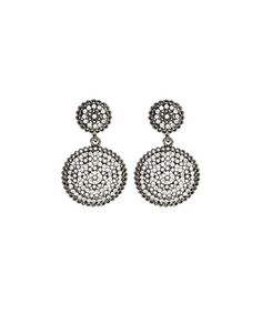 Love this Gunmetal Crystal Medina Drop Earrings on #zulily! #zulilyfinds
