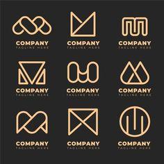 Vector Premium | Logotipo de la letra m Creative Logo, Banners, Logo Smart, Money Logo, Monogram Logo, Logo Design, Logo Inspiration, Logo Templates, Vector Free