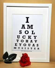 A cute gift idea for Delta Gamma sisters because of Service for Sight.