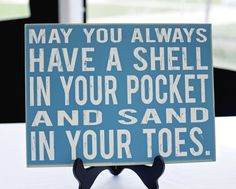 Oceanside Wedding at Belle Mer Island House from Krystal Kast Photographers I Love The Beach, My Love, Great Quotes, Inspirational Quotes, Seaside Decor, Coastal Decor, Beach Quotes, Beach Signs, Am Meer