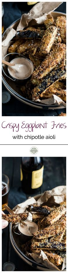 Crispy Eggplant Fries with Chipotle Aioli | The Endless Meal