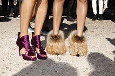 """Fotos street style Paris Fashion Week 2012: """"Diálogos imposibles que sólo pueden ocurrir en París"""""""