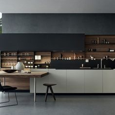 Poliform Phoenix Contemporary Kitchen Naples Florida Richlin Interiors