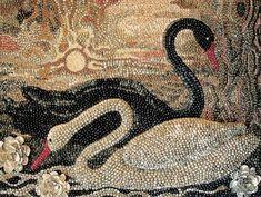 Мозаика из ракушек от Марины Александровой - Валентина Грошева