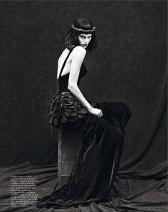 le noir partie 3: saskia de brauw by mert and marcus for vogue paris september 2012