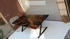 """96 Beğenme, 1 Yorum - Instagram'da LEGNOROFFICIAL (@legnorofficial): """"it is ready to ship for 🇺🇲 #möbel #ebaykleinanzeigen #esstisch #epoxidharz #epoxidharztischplatte…"""" Epoxy Resin Table, Solid Wood, Etsy Seller, Dining, Furniture, Home Decor, Instagram, Dinner Table, Food"""