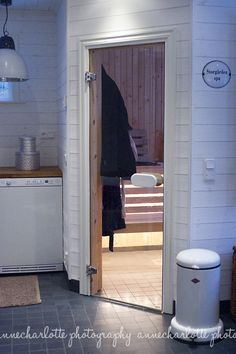 Sauna! Sauna Ideas, Apple Farm, Saunas, Laundry Room, Basement, Bathrooms, Spa, Architecture, Decoration