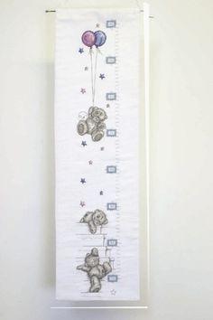 Height Chart - Tatty Teddy Cross Stitch Kit