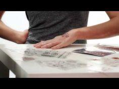 VIDEO: how to wear henna #temporarytattoos #fashion