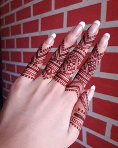 Finger Mehndi Style, Finger Mehendi Designs, Henna Art Designs, Mehndi Designs For Girls, Stylish Mehndi Designs, Mehndi Designs For Beginners, Dulhan Mehndi Designs, Mehndi Design Photos, Mehndi Designs For Fingers