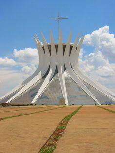 The Cathedral of Brasilia, Brazil