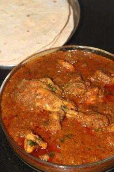 Maharashtrian Style Chicken Masala Gravy