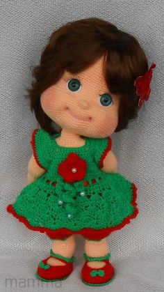 Crochet pattern – Alyonushka (Amigurumi Doll Pattern) – Page 706220785303120216 – BuzzTMZ Crochet Dolls Free Patterns, Amigurumi Patterns, Doll Patterns, Amigurumi Tutorial, Pattern Ideas, Cute Crochet, Crochet Toys, Crochet Baby, Knitted Dolls