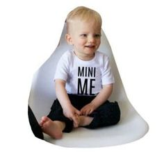 ME and MINI ME T-Shirt For Father And Baby
