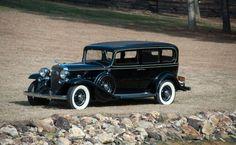 1932 Cadillac V-12 Imperial Seven-Passenger Sedan