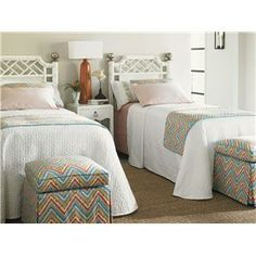 Ivory Key (543) by Tommy Bahama Home - Baer's Furniture - Tommy Bahama Home Ivory Key Dealer Florida (twin beds)