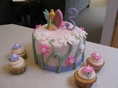 SugarTiers: Tinkerbell Cake