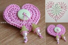 Heart Crochet Patterns - Beautiful Crochet Patterns and Knitting Patterns