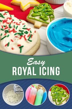 Try these quick and easy cake cookie recipes for any occasion Learn how to make icing with this easy recipe for Royal Icing. Great to use with our sugar cookie recipe. Find all the ingredients to make both in your pantry! Easy Royal Icing Recipe, Sugar Cookie Royal Icing, Easy Sugar Cookies, Sugar Cookies Recipe, Homemade Sugar Cookie Recipe, Icing With Powdered Sugar, Sugar Cookie Decorating Icing, Royal Icing Recipes, Sugar Cooking Icing