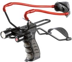 Tactical Slingshot with Laser Sight and Light in Sporting Goods, Outdoor Sports, Air Guns Slingshots Crossbow Targets, Diy Crossbow, Crossbow Arrows, Crossbow Hunting, Archery Hunting, Survival Weapons, Survival Prepping, Survival Gear, Wilderness Survival