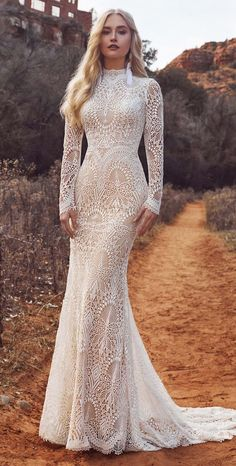 Fall Wedding Dresses, Boho Wedding Dress, Bridal Dresses, Bridesmaid Dresses, High Neck Wedding Dresses, Mermaid Wedding Dress With Sleeves, Wedding Dress Patterns, Backless Wedding, Mermaid Dresses