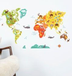 <p>Printed on adhesive fabric (not vinyl). These decals are removable AND reusable and won't wrinkle or rip. Safe for non-porous walls, our decals will not leave any sticky residue and are easy-to-clean with a damp sponge.</p> <p>Maker Name: Petit Collage. </p>