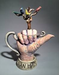 Image result for whimsical teapots