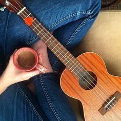 Ukulele + Coffee = Life made.