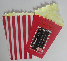DIY movie invitation/gift