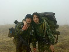 Chechen Rebels from the Caucus area.