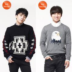 BIGBANG(ビッグバン) G-DRAGON(ジヨン)、T.O.P(チェ・スンヒョン)、テヤン(TAEYANG : ヨンベ : SOL) テソン(D-Lite)、スンリ(V.I) ::: Gmarket (Gマーケット) New Phot...