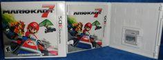 Nintendo 3DS MARIOKART 7 2011  Game & Instructions E8