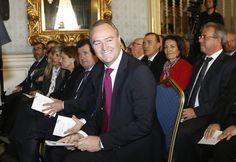 En la toma de posesión del nuevo alcalde de Alicante, Miguel Valor