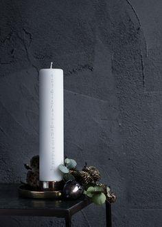 Broste Copenhagen Christmas AW14 #natural #christmas #candle