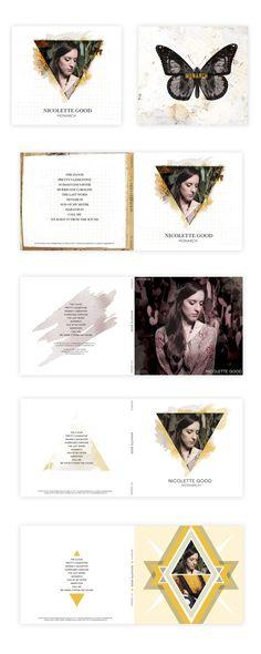 Monarch Album Design by Lindsey Nichols, via Behance
