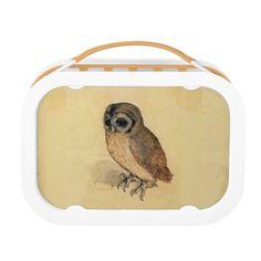 Albrecht Durer The Little Owl Lunch Box